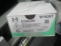 SUTURES ETHILON 2/0 x 75cm x PK24+26MM-BLUE