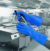 Blue Pura Premium Flock Lined Glove