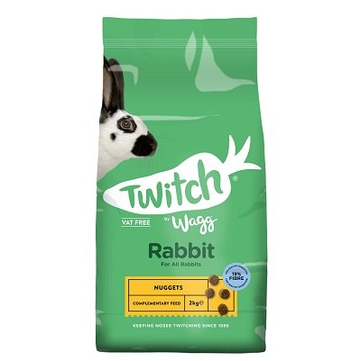 Twitch by Wagg Rabbit Nuggets 4 x 2kg