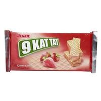 Ulker 9 Kat Tat Deluxe Wafer Strawberry 39gr