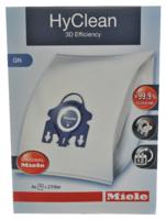 Miele GN HyClean 3D Efficency Vacuum Bags 4 Pack & 2 Filters Genuine