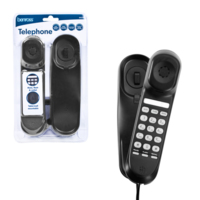 SLIMTALK TELEPHONE BLACK