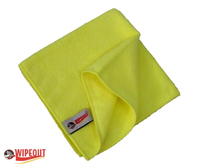 Yellow Microfiber Cloths