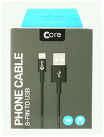 Core Lightning 1m High Speed Cable
