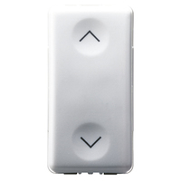 Gewiss 10A 1G 1NO+1NO Arrow Switch Insert
