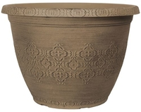 Agatha Planter Round 40cm - Shaded Taupe