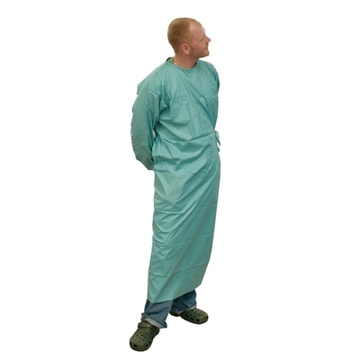 Purfect Gown Sterile Disposable 68g Spunlaced Green STD (24)