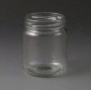 212ml Round glass jar