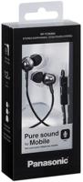 Panasonic Black Earphone with Mic