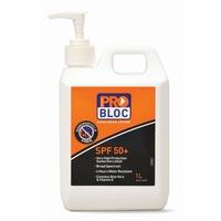 Problock Sunscreen SPF 50+Pump 1000ml