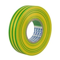 Insulation Tape 19mm x 20m Green/Yellow