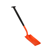 Standard blade two piece shovels – T-grip handle