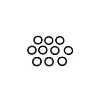 008 O Rings (Packed in Tens) (WT1423)