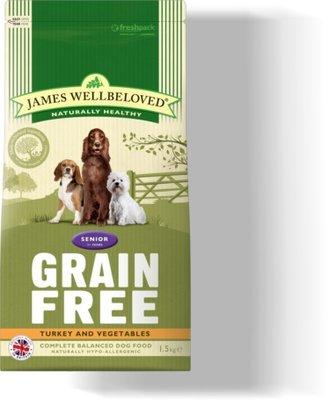 James Wellbeloved Senior Dog Grain-Free - Turkey 10kg