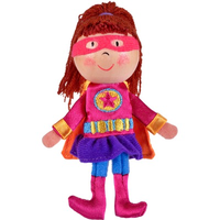 Girl Hero Finger Puppet