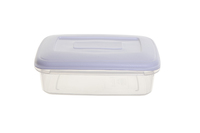 WHITEFURZE 1.5 LTR FOOD STORAGE BOX WITH LID WHITE
