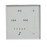 Nuvo Wall Keypad White NV-P20-ARWH