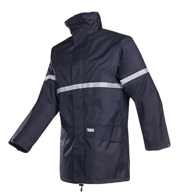 SIOEN 9461 Flame Retardant Anti Static Jacket Navy with Detachable Lining.