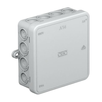 A14 JUNCTION BOX 100X100X40 WITH TERMINAL.