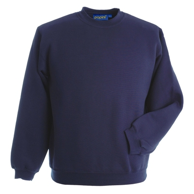 Papini Navy 280g Premium Weight Sweat Shirt