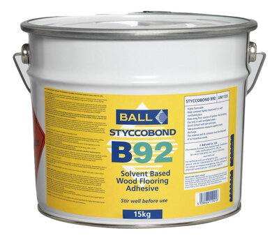 B92 Solvent Based Adhesive For Wood Block And Laminate