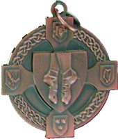 40mm Irish Dancing Medal (Bronze)