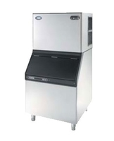 Ice Machine 320Kg/24Hour with 150kg Bin 850x810x1670mm