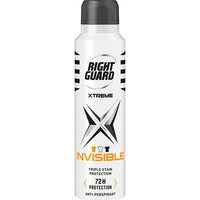 Right Guard Xtreme Men 72Hr Invisible Aerosol 150ml
