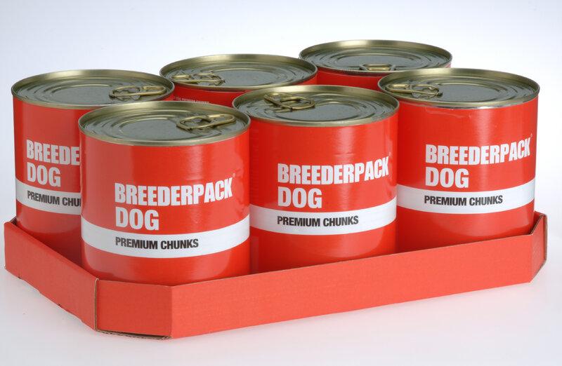 Breederpack Premium Chunks Dog 6 x 800g