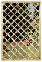 Grange Mirror Lattice Screen