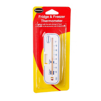 Brannan Horizontal Fridge/Freezer Thermometer