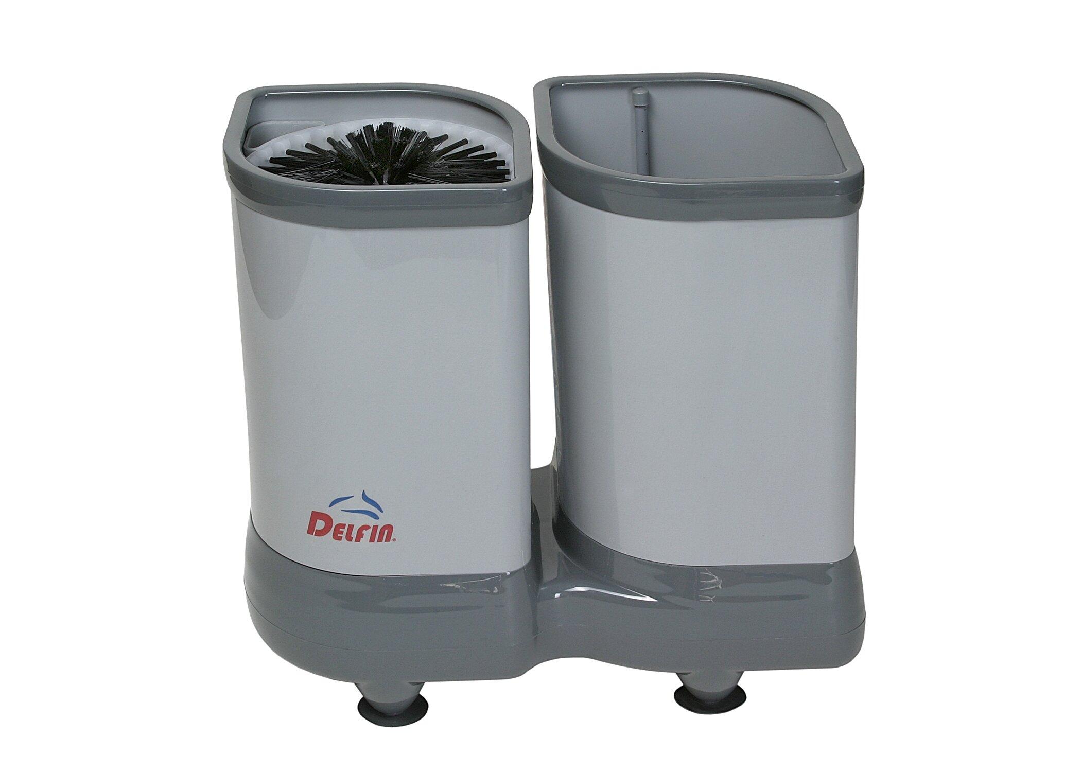 Delfin TS2100 Tall Glass Washer Grey