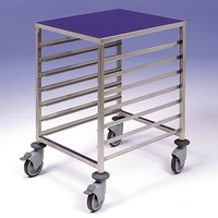 Gatronorm Low Level Trolley 1/1 7 Tier S/S 450x610x900mm