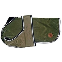 "Country Pet Dog Coat - Waterproof Green 52cm/20"" x 1"