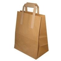 "Paper Bag Medium (SOS/Brown)-(My Choice)-(250x8.5x13""x10"")"""