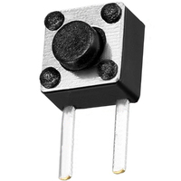 Switch | Tact Switch Right Angle 6x6x4.3mm 2 Pins
