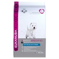 Eukanuba West Highland White Terrier 2.5kg