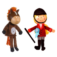 Horse & Rider Finger Puppets