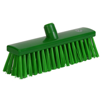 Soft Bristle Broom 300 mm, Green