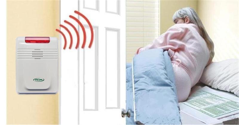Wireless Bed Senor Pad and Alarm