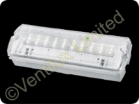 VISOR EMERGENCY IP65 INDOOR & OUTDOOR LED BULKHEAD MAINTAINED