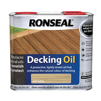 RONSEAL ULTIMATE PROTECTION DECKING OIL NATURAL 2.5L