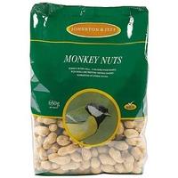 Johnston & Jeff Monkey Nuts in Shells 650g x 1