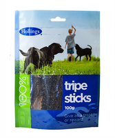 Hollings Tripe Sticks 100g Packets x 20