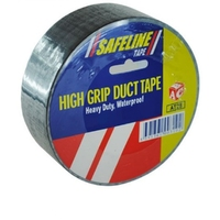 Duct Tape Silver 50mm x 50 Mtr Safeline