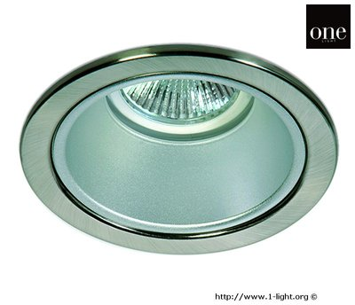 ONE Light Chrome Trim Large Round Downlight