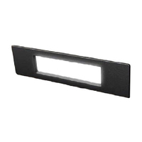 Fumagalli Nina 190 8.5W LED Wall / Brick Light Black