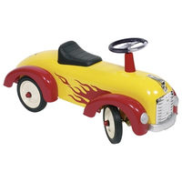 Children's Ride-on Car with Flames