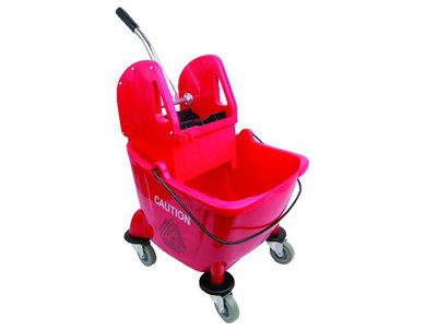 BISON Mop Bucket & Wringer 24L