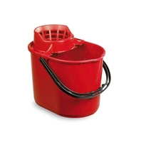 PLUTO BUCKET WITH SIEVE RED 12ltr